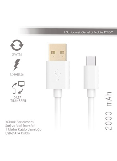Data Tybe-C Usb Data Kablo-Soultech